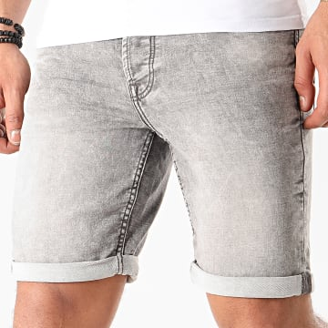 Only And Sons - Short Jean Ply Gris