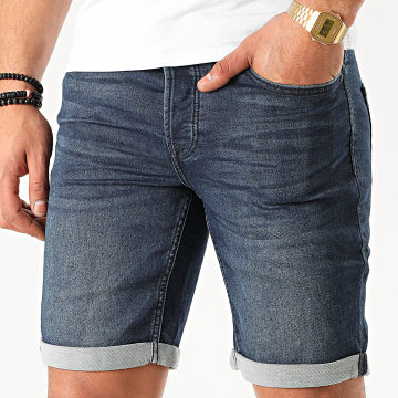 Only And Sons - Short Jean Ply Bleu Denim