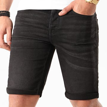 Only And Sons - Short Jean Ply Noir