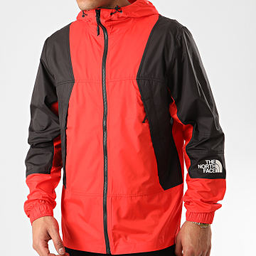 The North Face - Coupe-Vent Mountain 3RYS Rouge Noir