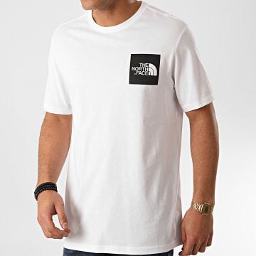 The North Face - Tee Shirt Fine CEQ5 Blanc