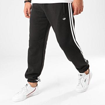 Pantalon Jogging A Bandes Wrap FM1521 Noir