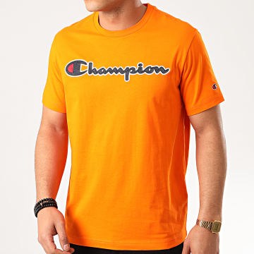 Champion - Tee Shirt 214194 Orange
