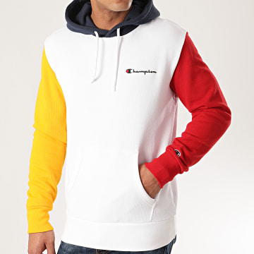 Sweat Capuche 214356 Blanc
