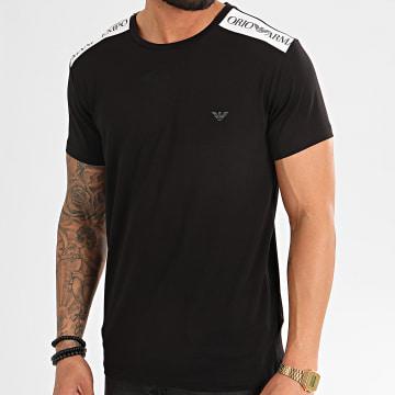 Tee Shirt A Bandes 211819-0P462 Noir