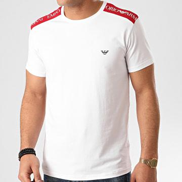 Tee Shirt A Bandes 211819-0P462 Blanc