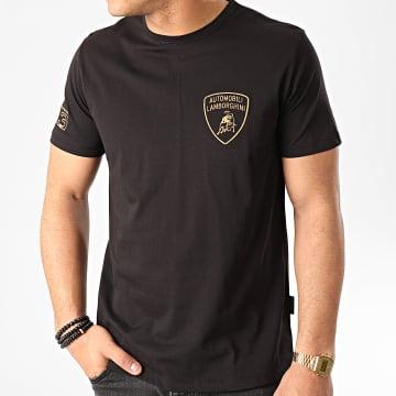 Lamborghini - Tee Shirt B3XVB7T4-30260 Noir Doré
