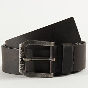 Replay - Ceinture AM2417 Noir Marron