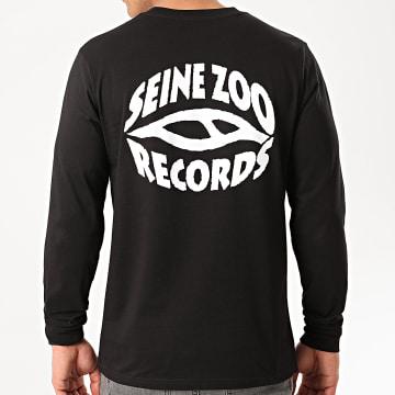 Seine Zoo - Tee Shirt Manches Longues Logo Noir