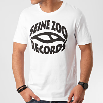 Seine Zoo - Tee Shirt Logo Blanc