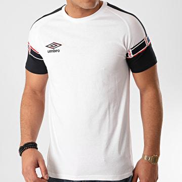 Tee Shirt Authentic 772030 Blanc Bleu Marine