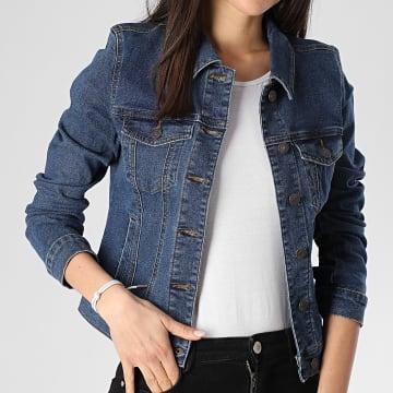 Vero Moda - Veste Jean Femme Hot Soya Bleu Denim