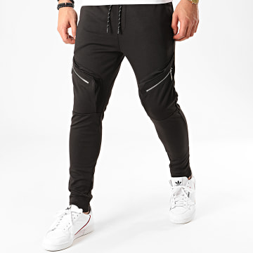 Aarhon - Pantalon Jogging 23810 Noir