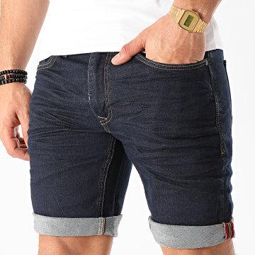 Blend - Short Jean 20709709 Bleu Brut