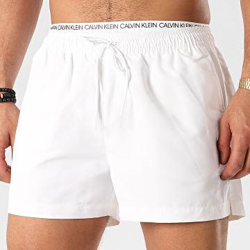 Calvin Klein - Short De Bain Double WB 0438 Blanc