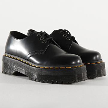 Dr Martens - Chaussures Femme 1461 Quad 25567001 Black Polished