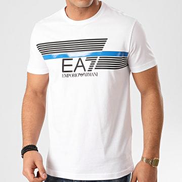 EA7 - Tee Shirt 3HPT34-PJ02Z Blanc