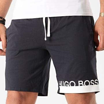 Short Jogging Identity Shorts 50424972 Bleu Marine
