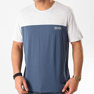 Tee Shirt Balance 50424940 Bleu Marine Gris Chiné