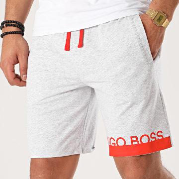 Hugo Boss - Short Jogging Identity Shorts 50424972 Gris Chiné