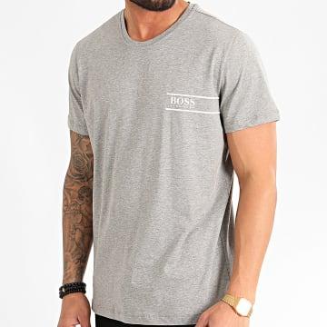 BOSS - Tee Shirt RN 24 50426319 Gris Chiné