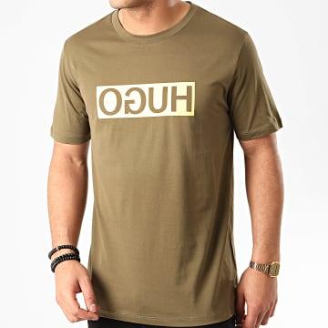 HUGO by Hugo Boss - Tee Shirt Dicagolino 202 50425766 Vert Kaki