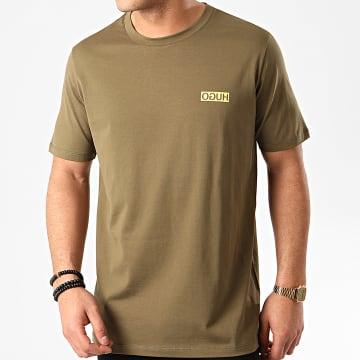 HUGO by Hugo Boss - Tee Shirt Durned 202 50425768 Vert Kaki