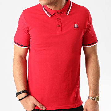 Polo Manches Courtes Paolo Rouge