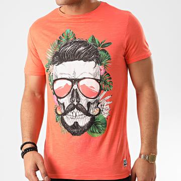 La Maison Blaggio - Tee Shirt Floral Minot Corail