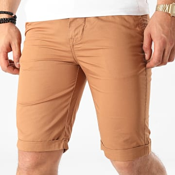 La Maison Blaggio - Short Chino Matt Marron