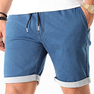 Tiffosi - Short Jean Parral Bleu Denim