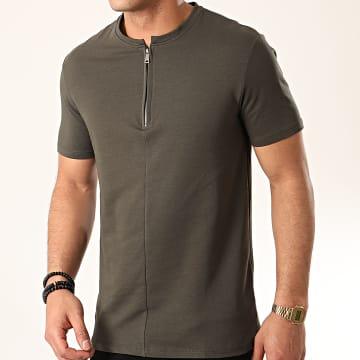 Tee Shirt UY477 Vert Kaki