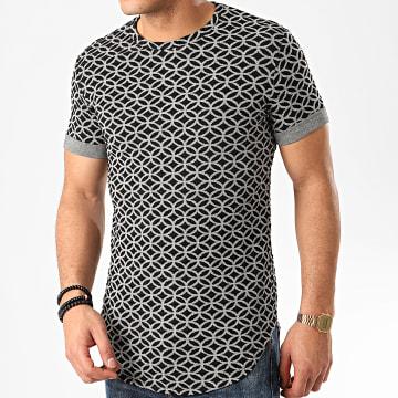 Uniplay - Tee Shirt Oversize UY485 Noir Blanc