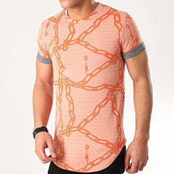 Uniplay - Tee Shirt Oversize UY483 Orange