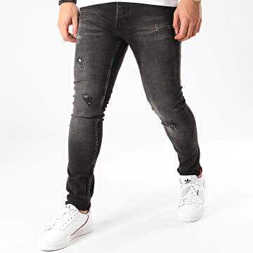Uniplay - Jean Skinny 280 Gris Anthracite