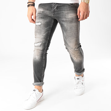 Uniplay - Jean Skinny 270 Gris Anthracite