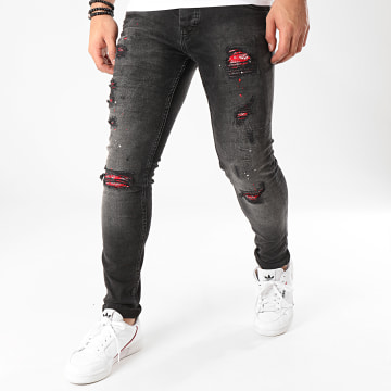 Uniplay - Jean Skinny 260 Gris Anthracite