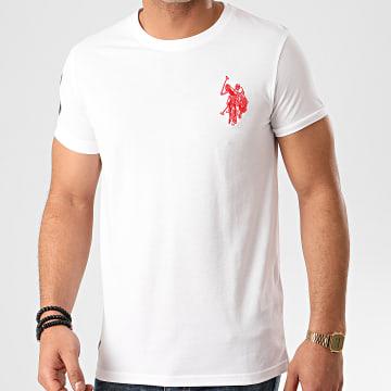 US Polo ASSN - Tee Shirt New N3 Player Blanc