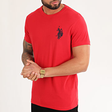 US Polo ASSN - Tee Shirt New N3 Player Rouge