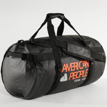 American People - Sac De Sport Try Noir