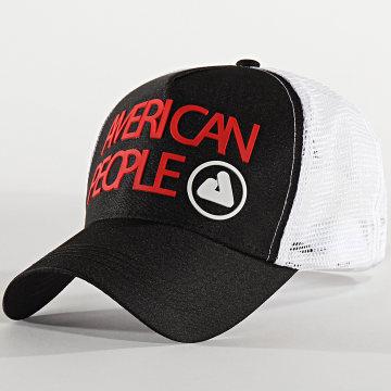 American People - Casquette Trucker 90-166 Noir