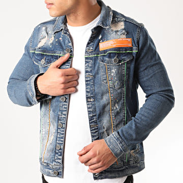 Black Needle - Veste En Jean 2999 Bleu Denim