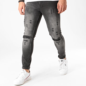Classic Series - Jean Skinny DHZ-2966 Gris Anthracite