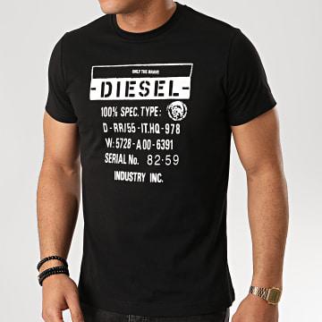 Diesel - Tee Shirt Diego S1 00SEFZ-0091A Noir