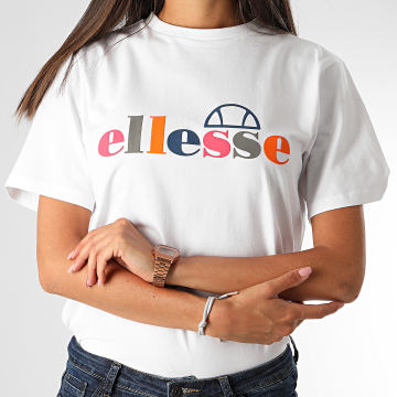 Ellesse - Tee Shirt Femme Rialzo SGE09697 Blanc