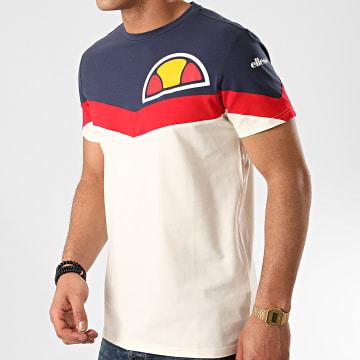 Tee Shirt A Bandes Urmo SXE09733 Crème