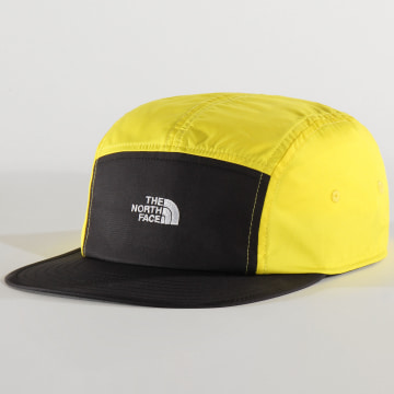 The North Face - Casquette 5 Panel EU Street Jaune Noir