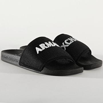 Armani Exchange - Claquettes XUP001 Noir