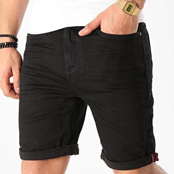 Blend - Short Jean Slim Twister 20710428 Noir
