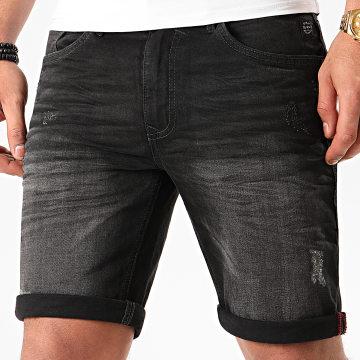 Blend - Short Jean 20709710 Noir